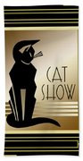 Cat Show - Frame 5 Bath Towel
