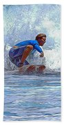Catching The Wave Bath Towel