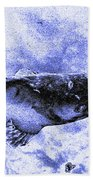 Catfish Blue Bath Towel