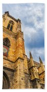 Cathedral Of Colmar, Alsace,france Bath Towel