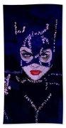 Catwoman Michelle Pfeiffer Burton Bath Towel