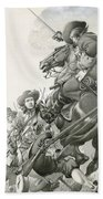 Cavalry Charge Bath Towel