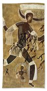 Cave Art Bath Towel