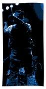 Cdb Winterland 12-13-75 #11 Enhanced In Blue Bath Towel
