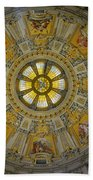 Ceiling Of The Berlin Cathedral Bath Towel