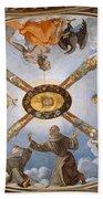 Ceiling Of The Chapel Of Eleonora Of Toledo Bath Towel