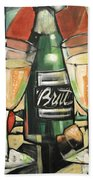 Celebrate With Bubbly Hand Towel