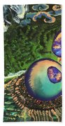 Cell Interior Microbiology Landscapes Series Bath Towel