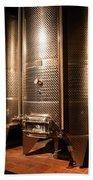 Modern Wine Cellar  Bath Towel