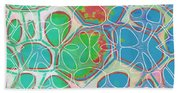 Cells 11 - Abstract Painting  Bath Towel