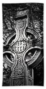 Celtic Cross Detail Killarney Ireland Hand Towel