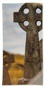 Celtic Crosses Bath Towel