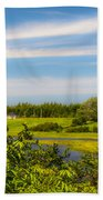 Celtic Shores Coastal Trail Bath Towel