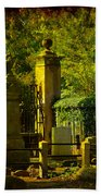 Cemetery In Charleston Bath Towel