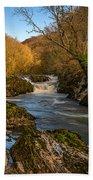 Cenarth Falls Bath Towel