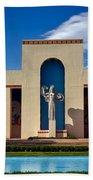 Centennial Hall At Fair Park - Dallas Bath Towel