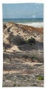 Central Coast Sand Dunes Bath Towel