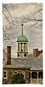 Central Moravian Church - Bethlehem Bath Towel