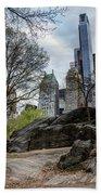 Central Park Views  Bath Towel