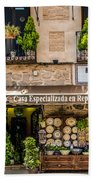 Ceramic Shop - Toledo Spain Bath Towel