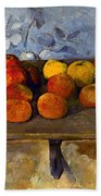 Cezanne: Apples & Biscuits Bath Towel