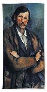 Cezanne: Man, C1899 Hand Towel