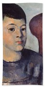 Cezanne: Portrait Of Son Bath Towel