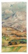 Cezanne: St. Victoire, 1897 Bath Towel