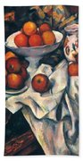 Cezanne: Still Life, C1899 Bath Towel