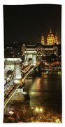 Chain Bridge Hand Towel