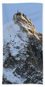 Chamonix - Aiguille Du Midi Bath Towel