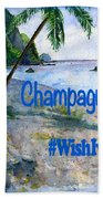 Champagne Snorkel Dominica Shirt Hand Towel