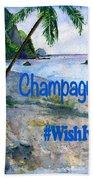 Champagne Snorkel Dominica Shirt Bath Towel