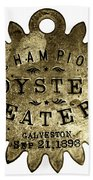 Champion Oyster Eater - To License For Professional Use Visit Granger.com Bath Towel