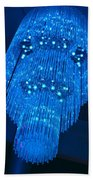 Chandelier In Blue 1 Bath Towel