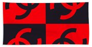 Chanel Design-3 Bath Towel
