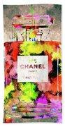 Chanel No. 5 Colored  Bath Towel