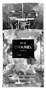 Chanel No. 5 Dark Bath Towel