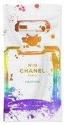 Chanel Number Nineteen Bath Towel