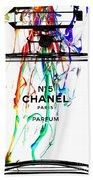 Chanel No. 5 White Bath Towel