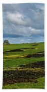 Changing Skies And Landscape Bath Towel