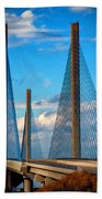 Charles W Cullen Bridge South Approach Bath Towel