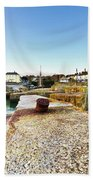 Charlestown From The Sea Wall Bath Towel