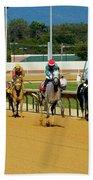 Charlestown Races Bath Towel