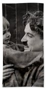Charlie Chaplin Bath Towel