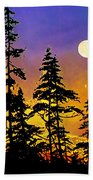 Chasing The Moon Hand Towel