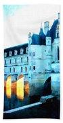 Chateau De Chenonceau Bath Towel