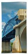 Chattanooga Bridge Bath Towel