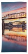Chattanooga Sunset 5 Bath Towel