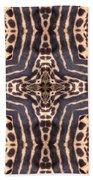 Cheetah Cross Bath Towel